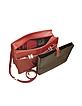 Rialto - Dark Red Leather Laptop Case w/Removable Sleeve - Tavecchi