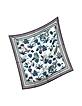 Utopia-Print Pure Silk Square Scarf - Tory Burch