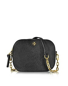 Robinson Saffiano Leather Round Crossbody Bag - Tory Burch