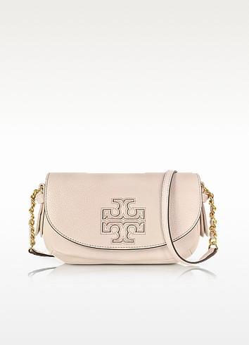 Harper Mini Leather Crossbody Bag - Tory Burch