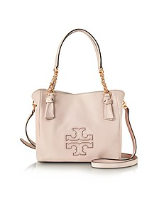Harper Bedrock Leather Small Satchel Bag - Tory Burch