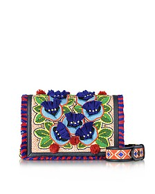Embroidered Floral Combo Crossbody Bag - Tory Burch
