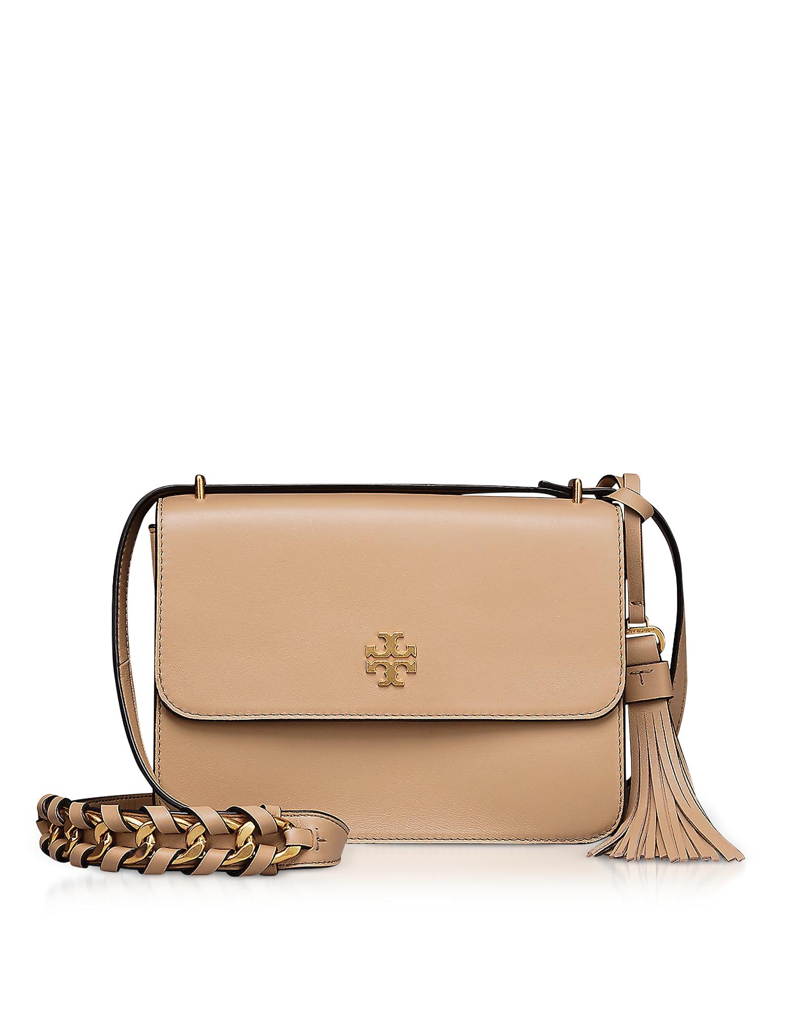 Tory Burch Handbags, Brooke Savannah Leather Shoulder Bag