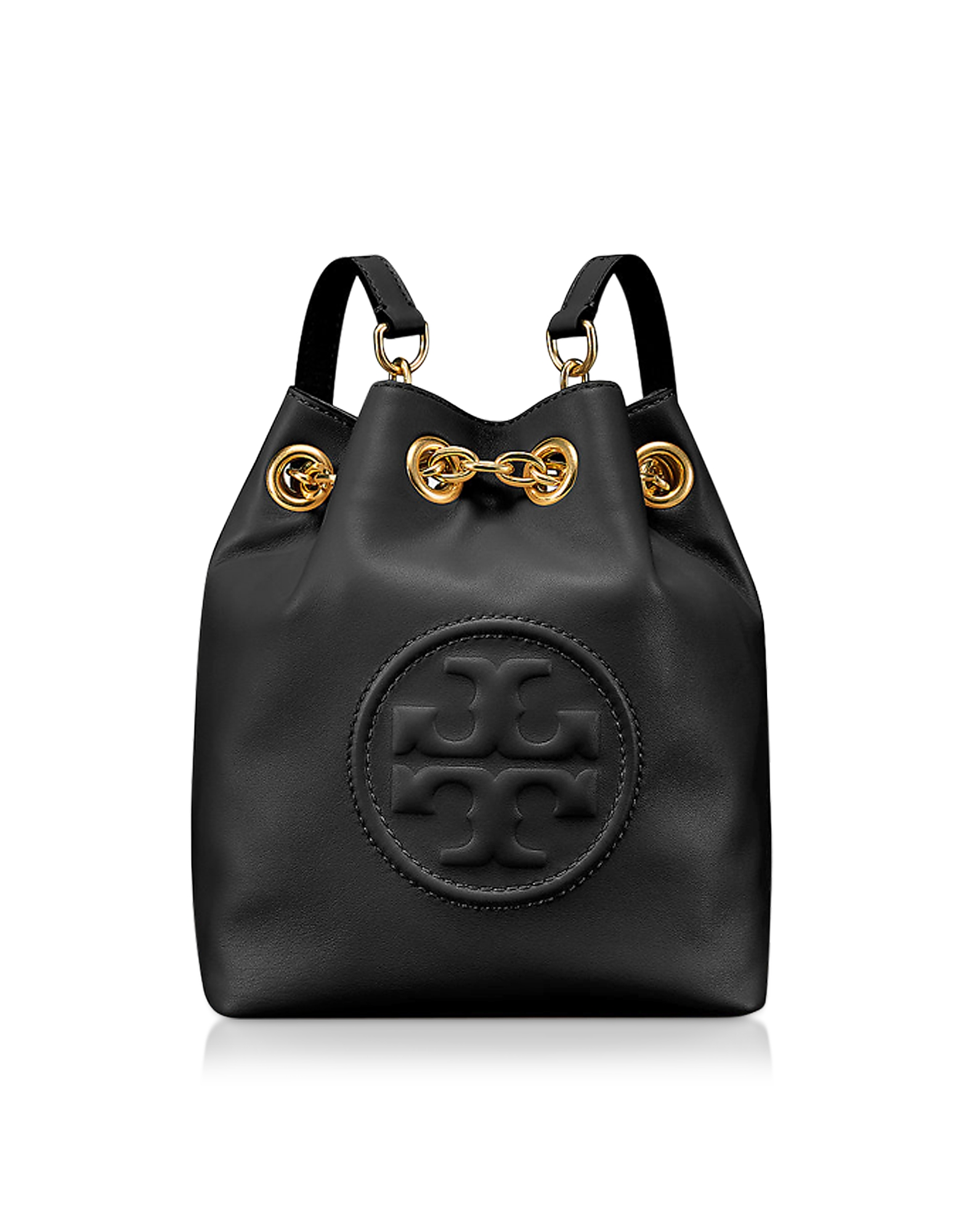 Tory Burch Handbags, Key Item Black Leather Mini Backpack