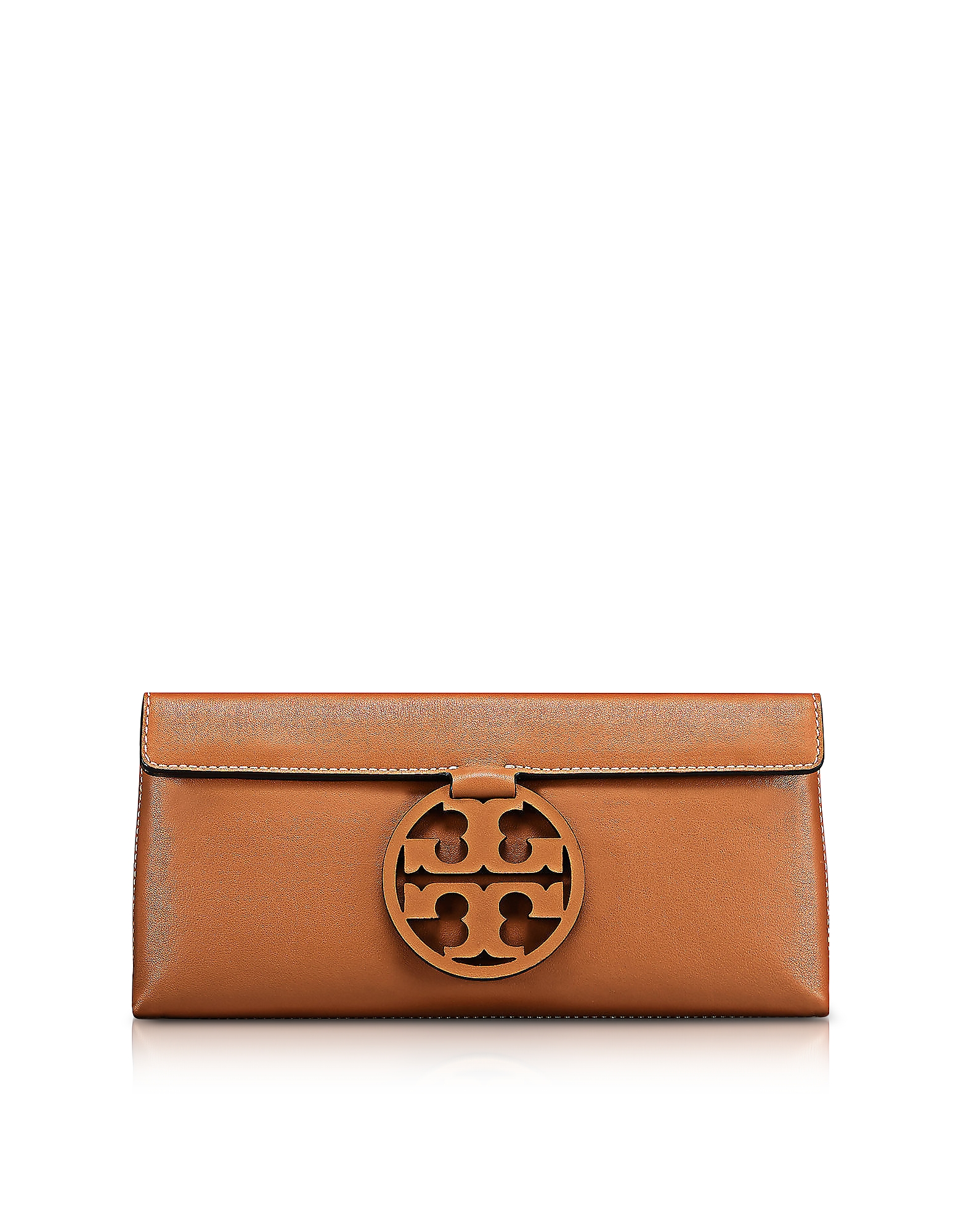 Tory Burch Handbags, Miller New Cuoio Leather Clutch