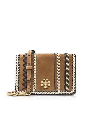 Kira Whipstitch Hazel Suede Mini Crossbody Bag ty130118-024-00