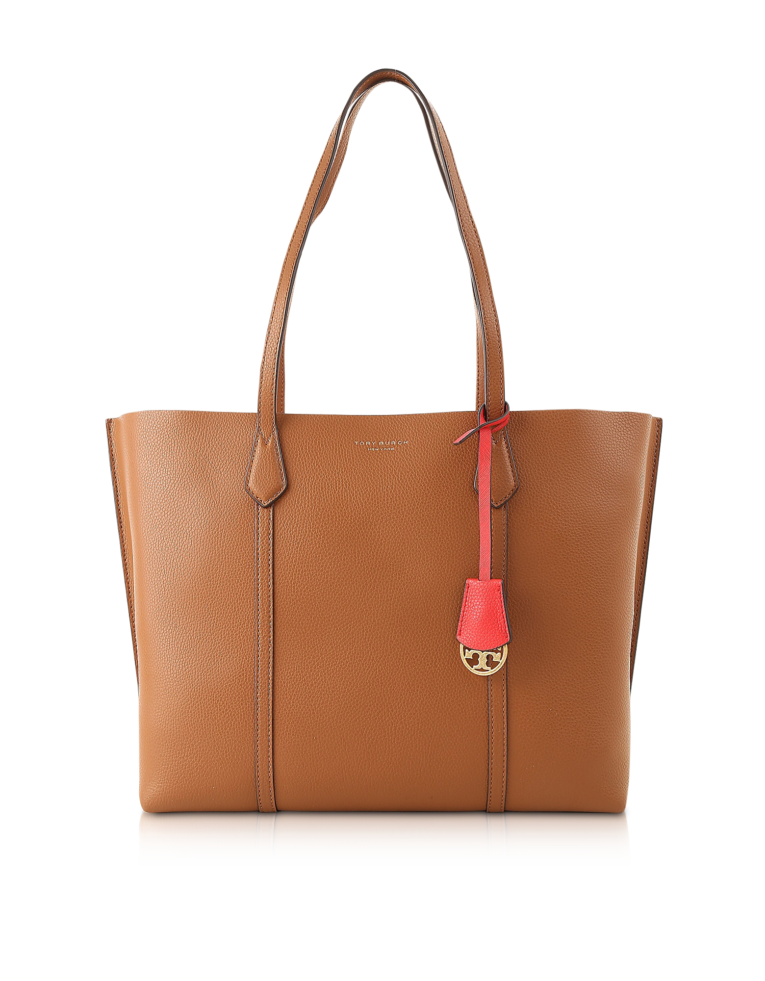 Perry Triple-Compartment Tote Bag, Umber