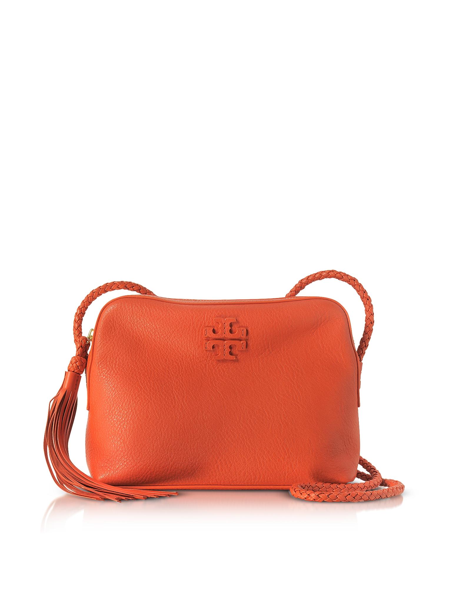 Tory Burch Handbags, Taylor Pebble Leather Camera Bag