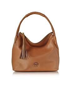 Taylor Pebble Leather Hobo Bag - Tory Burch
