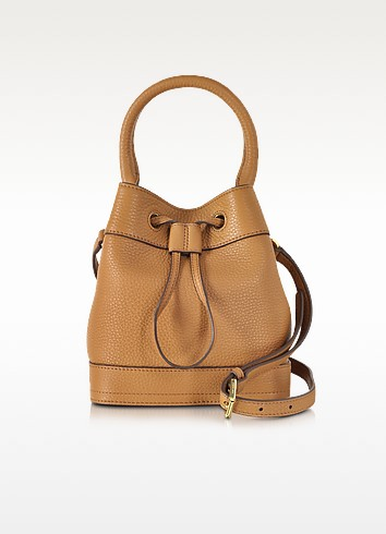 Robinson Mini Pebbled Leather Bucket Bag - Tory Burch
