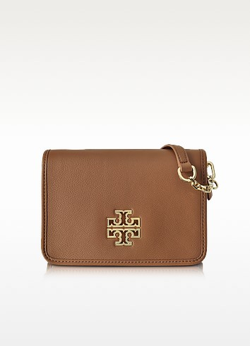 Britten Combo Pebbled Leather Crossbody Bag - Tory Burch