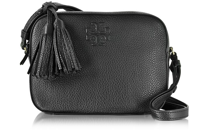 Thea Pebbled Leather Shoulder Bag - Tory Burch