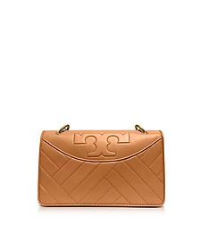 Alexa Aged Vachetta Leather Shoulder Bag - Tory Burch
