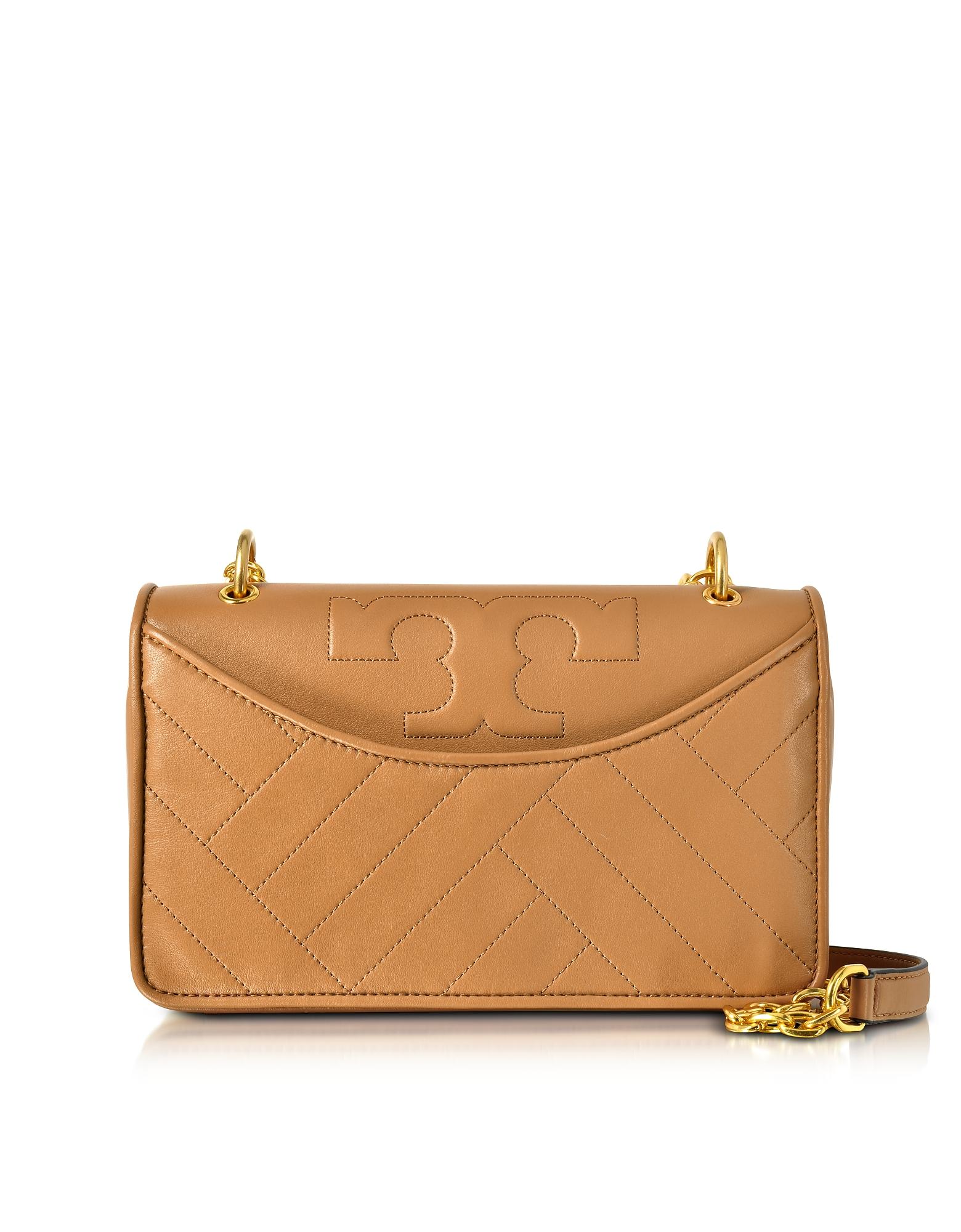 Tory Burch Handbags, Alexa Aged Vachetta Leather Shoulder Bag