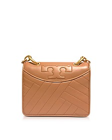 Alexa Aged Vachetta Leather Mini Shoulder Bag - Tory Burch