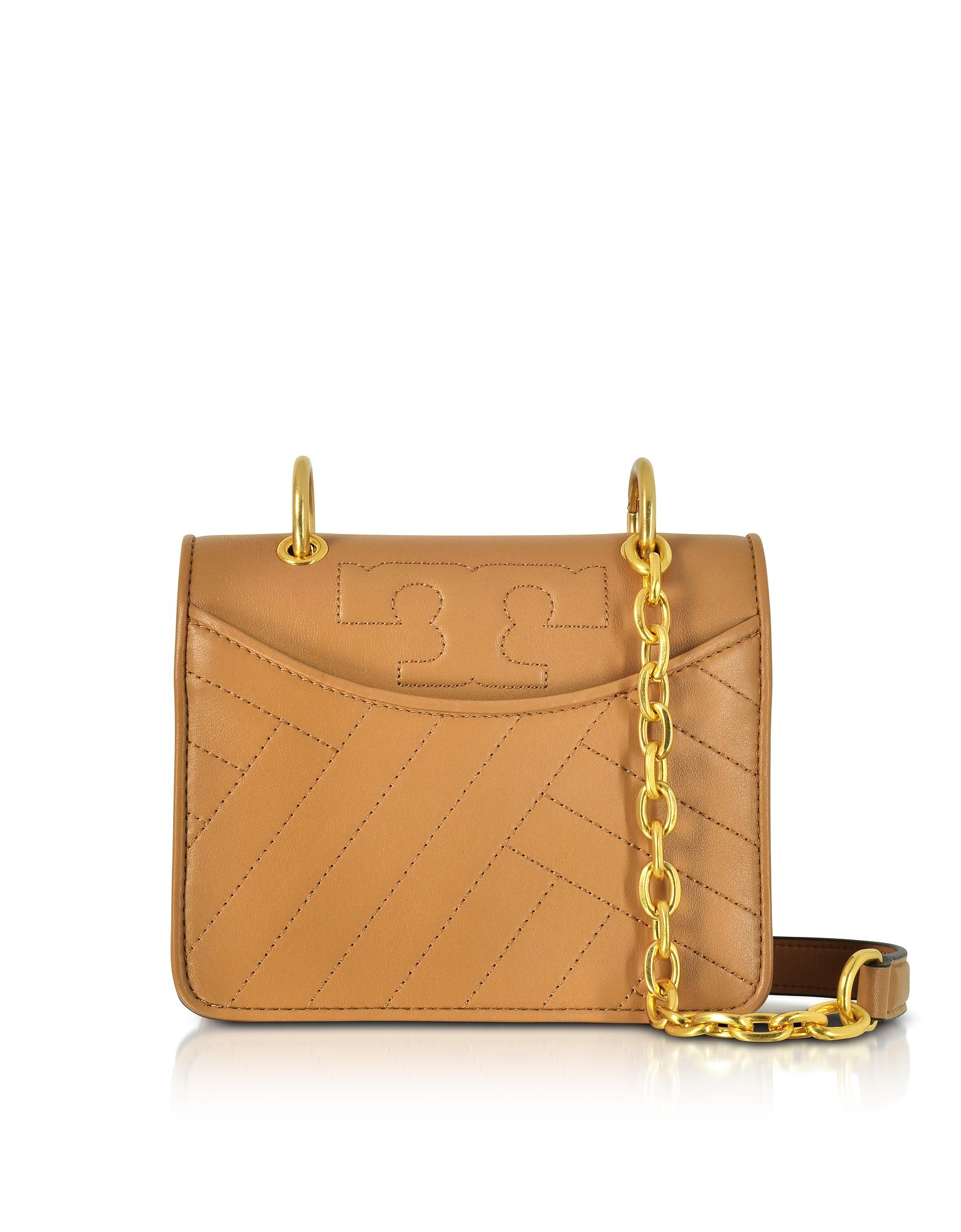 Tory Burch Handbags, Alexa Aged Vachetta Leather Mini Shoulder Bag