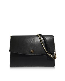 Parker Large Leather Convertible Shoulder Bag - Tory Burch