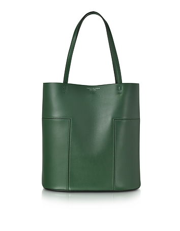 Block-T Leather Medium Tote