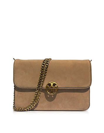Tory Burch - Chelsea Stucco Suede Shoulder Bag