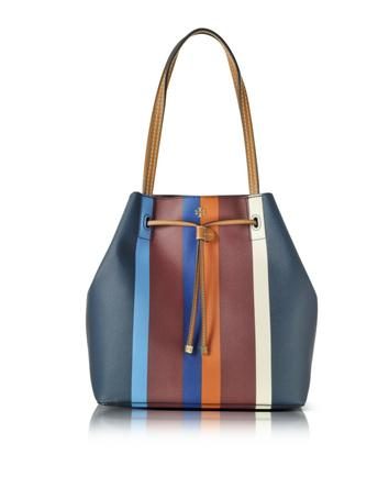 Kerrington Stripe Drawstring Tote