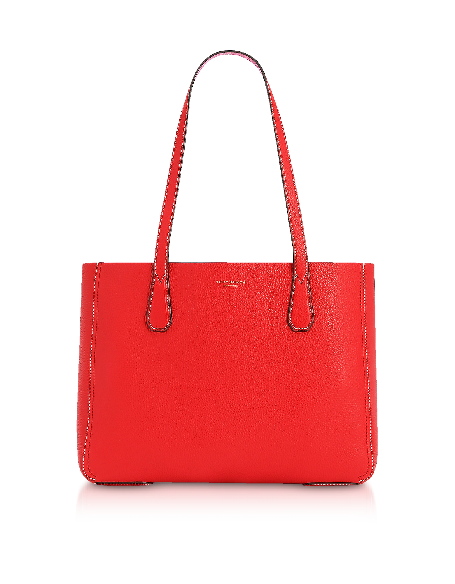 Tory Burch Handbags, Phoebe Pebbled Leather Mini Tote Bag