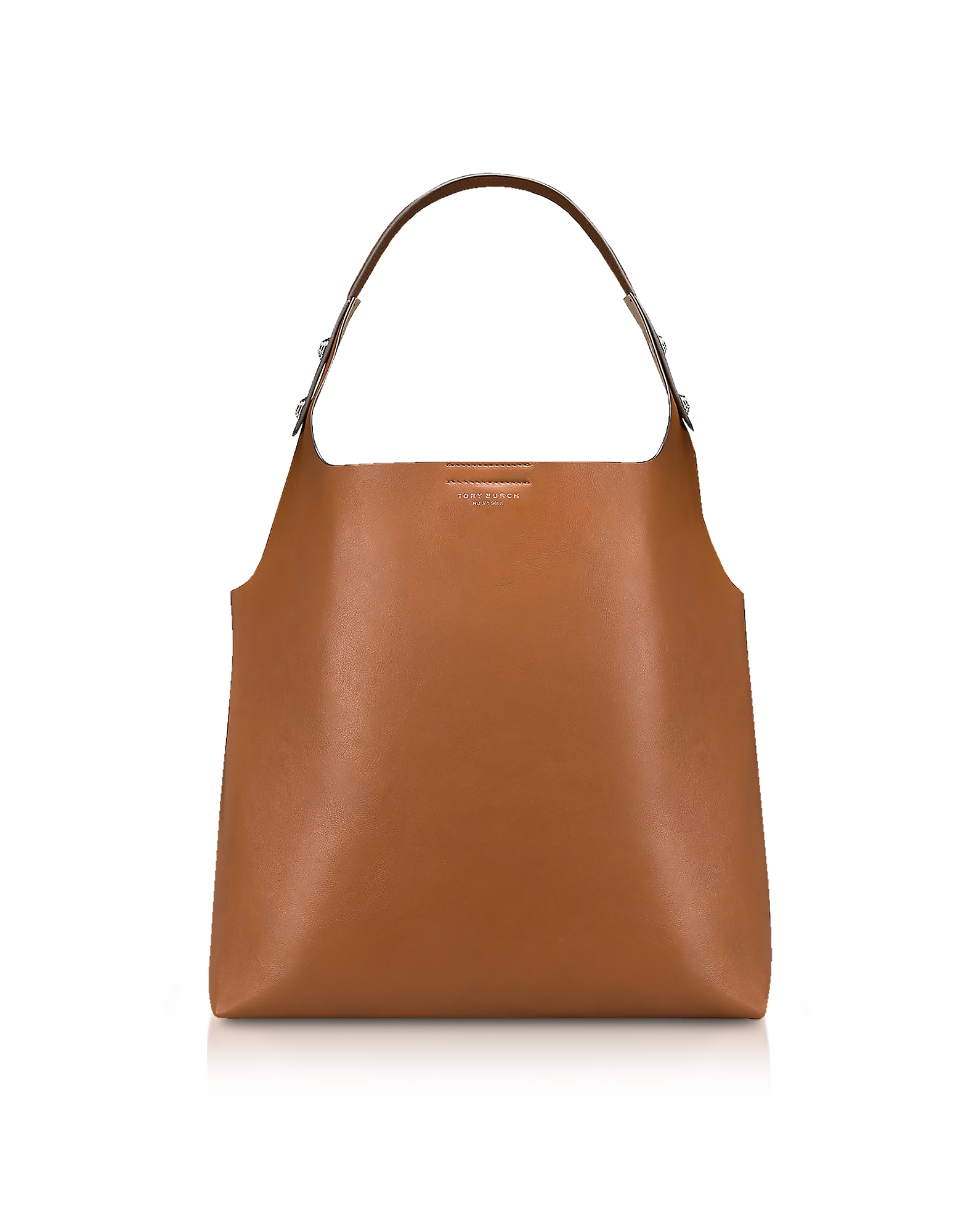 Rory Light Umber Leather Tote Bag
