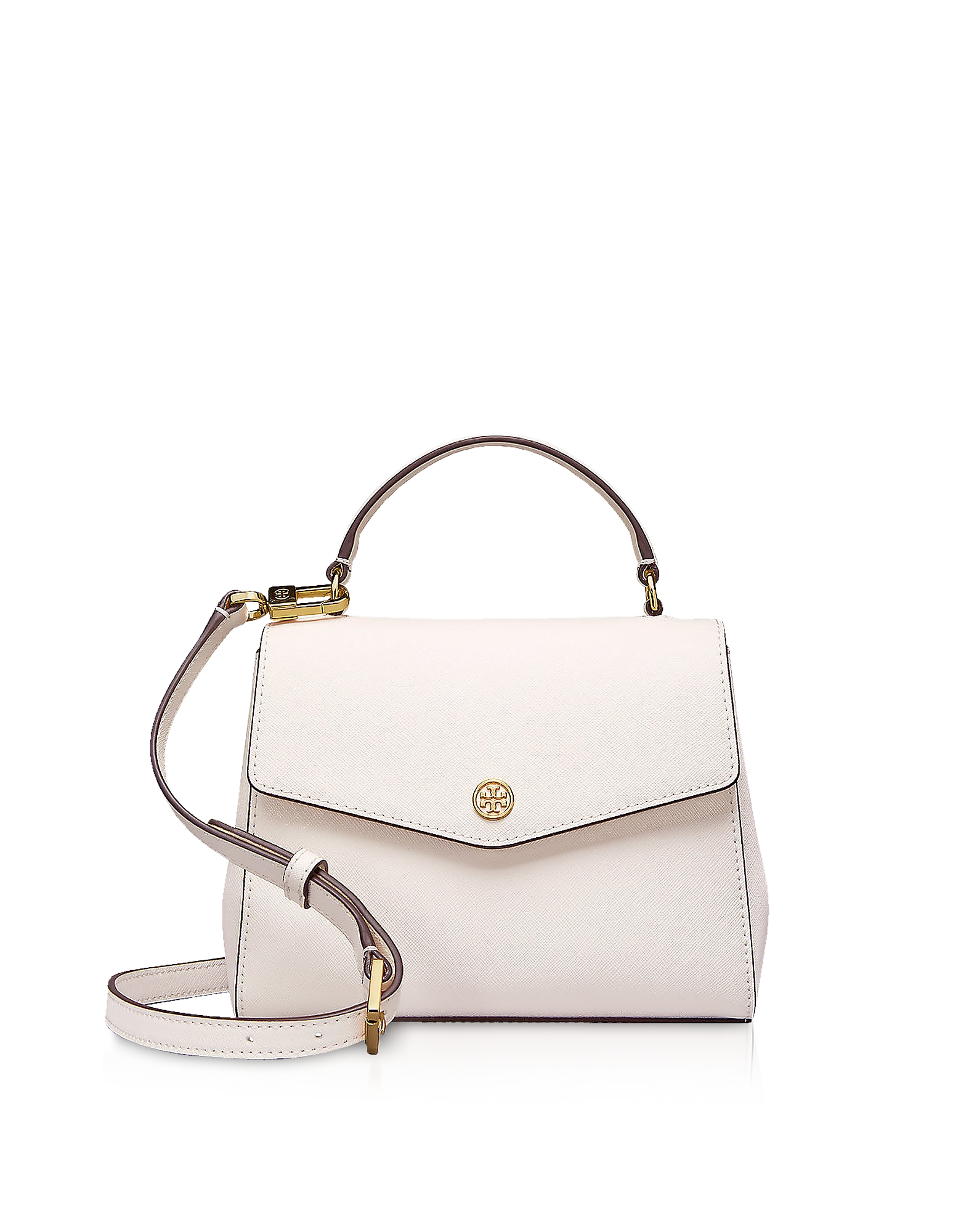 Birch Leather Robinson Small Top-Handle Satchel Bag
