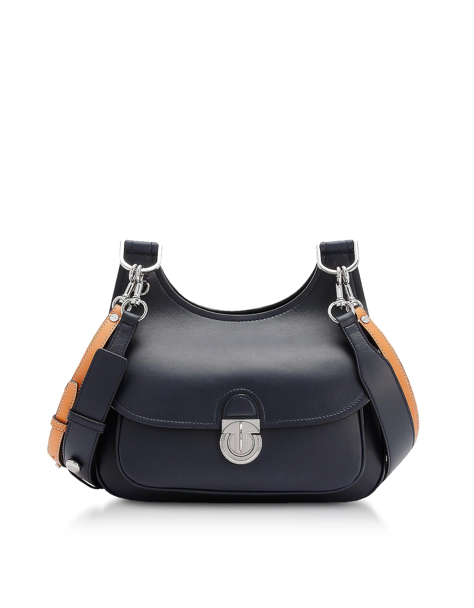 Tory Burch Handbags, Genuine Leather The James Saddlebag