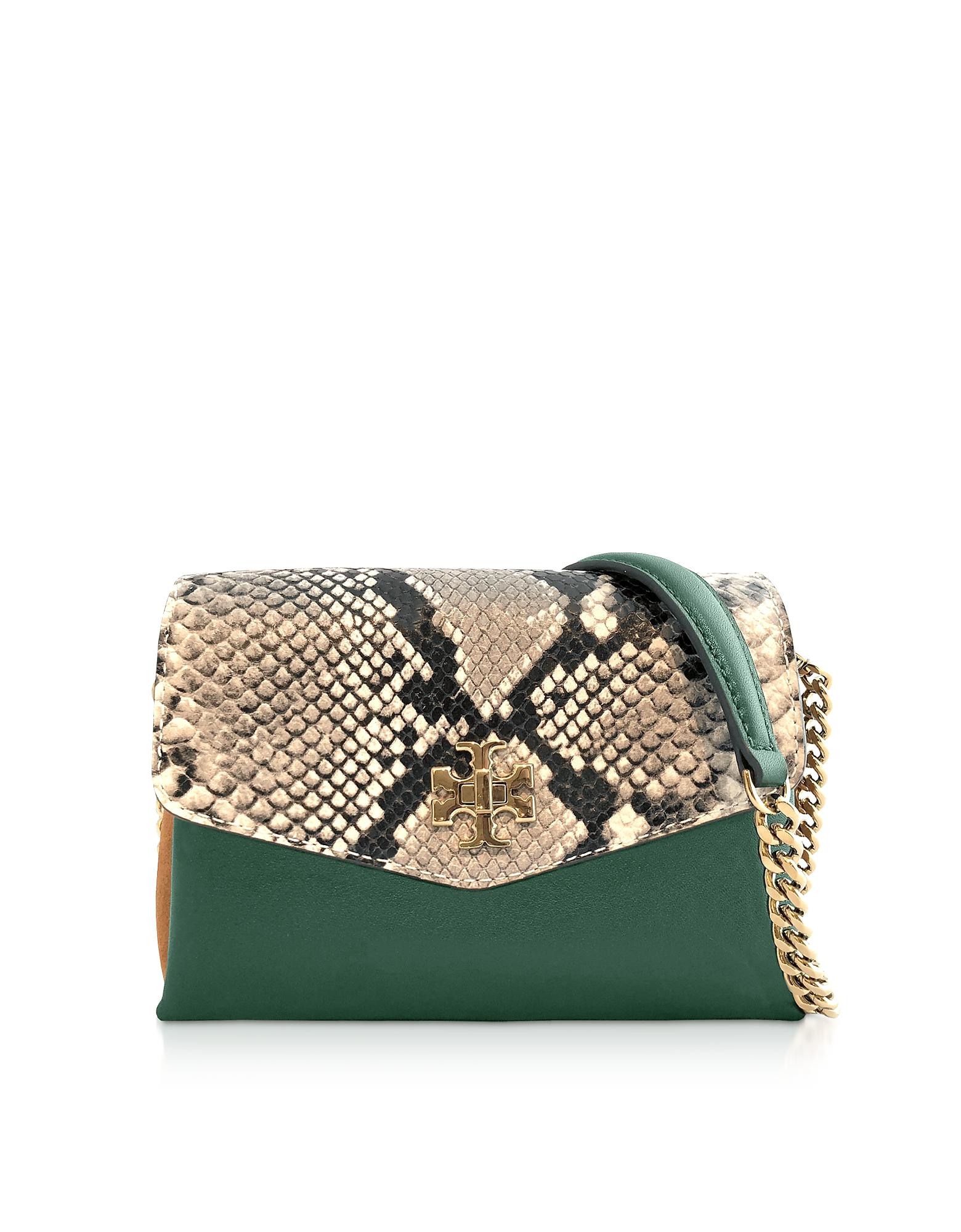 TORY BURCH   Tory Burch Designer Handbags, Kira Exotic Mini Bag   Goxip