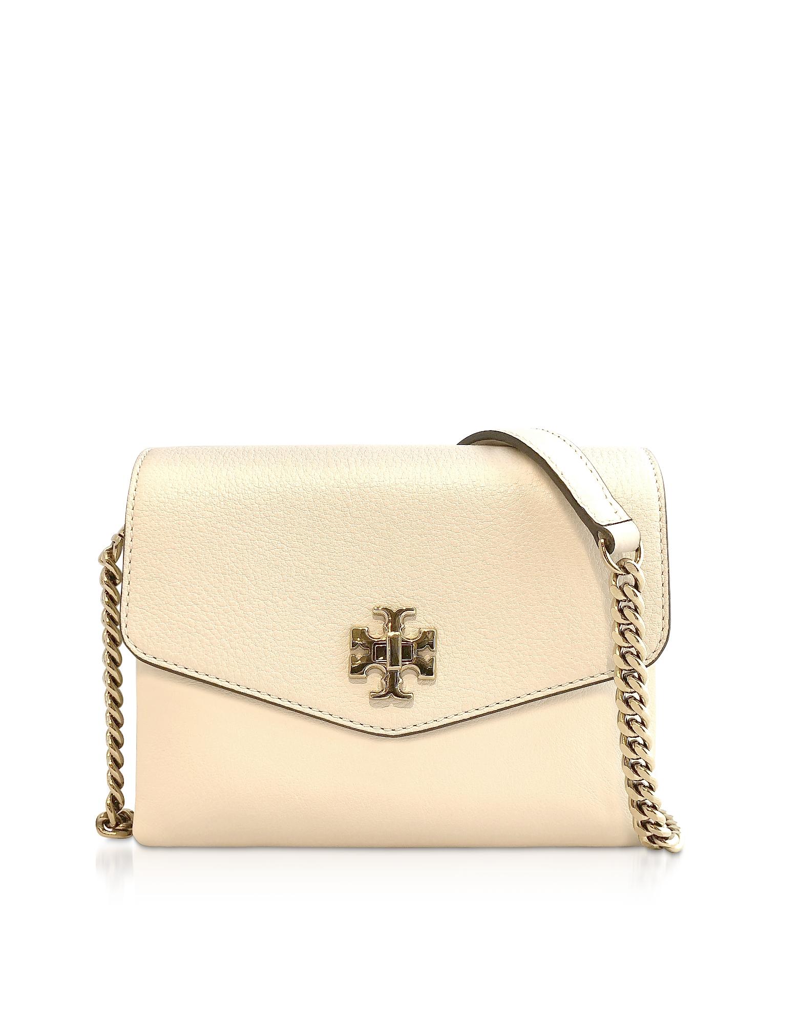 TORY BURCH | Tory Burch Designer Handbags, Kira Mix New Cream Mini Bag | Goxip