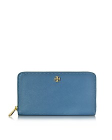 Robinson Saffiano Leather Continental Wallet - Tory Burch