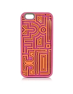 Tory Burch Gallery Game Cover per iPhone 6 in Silicone - tory burch - it.forzieri.com