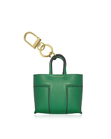 Mini Block T Tote Key Fob - Tory Burch