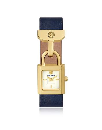 The Surrey Blue Leather Women's Watch