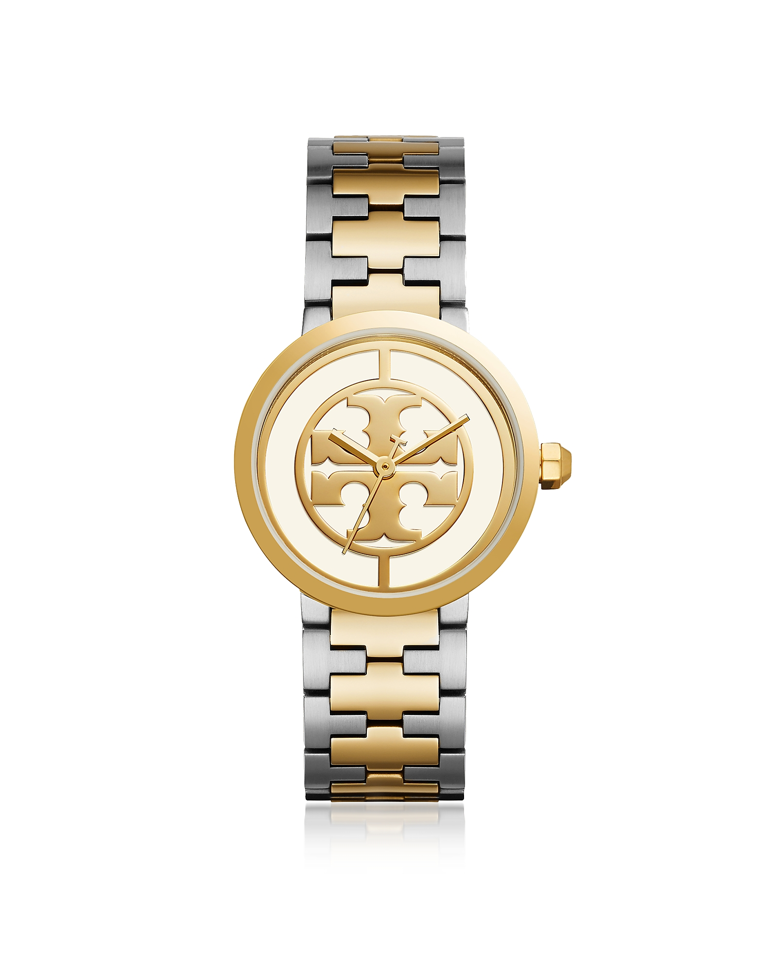 The Reva Two Tone 36mm Women's Watch, Gold