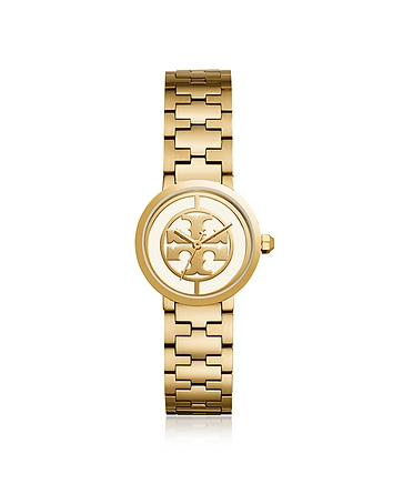 TBW4011 The Reva Gold Tone Stainless Steel 30mm Women's Watch