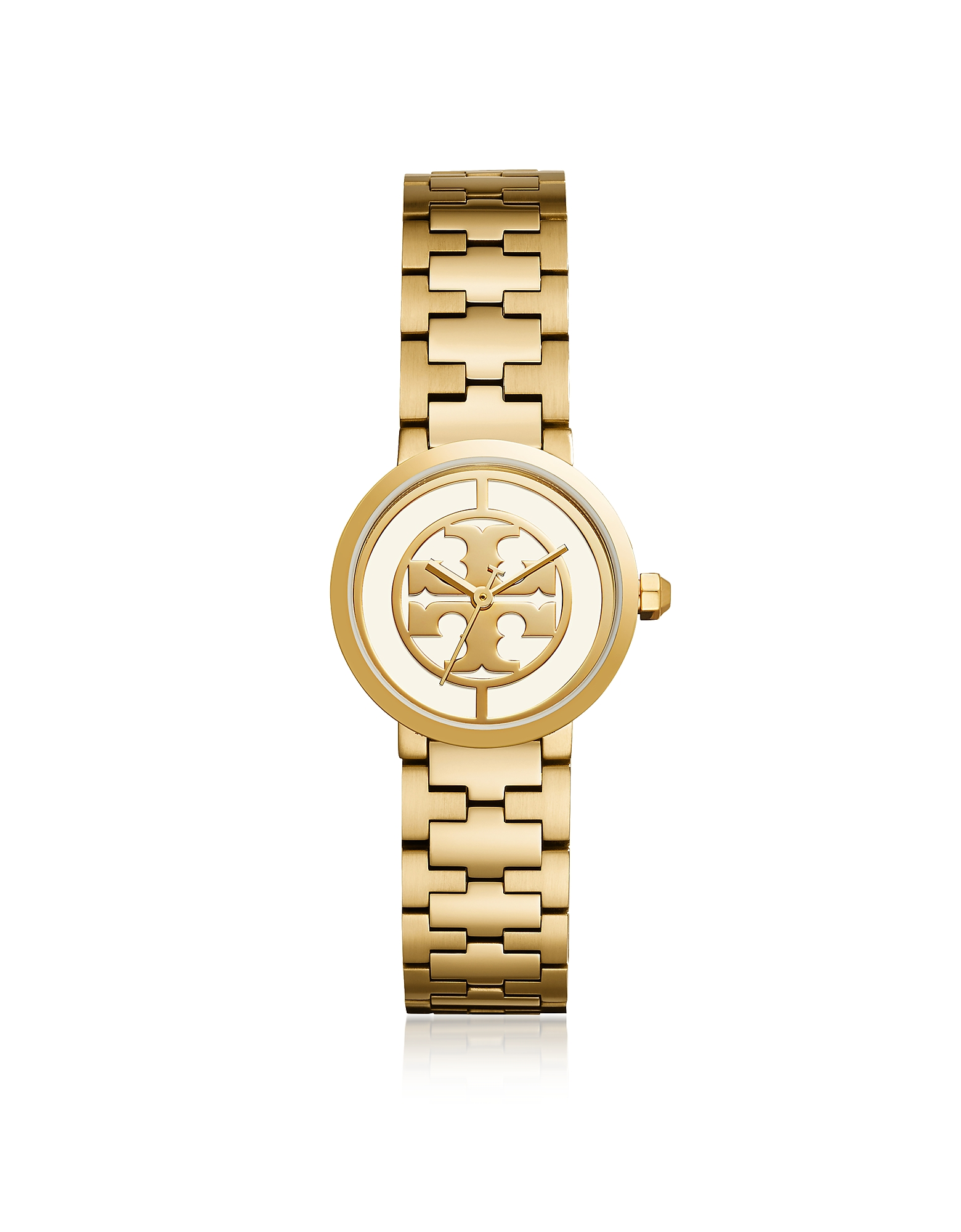 TBW4011 The Reva Gold Tone Stainless Steel 30mm Women's Watch Tory Burch