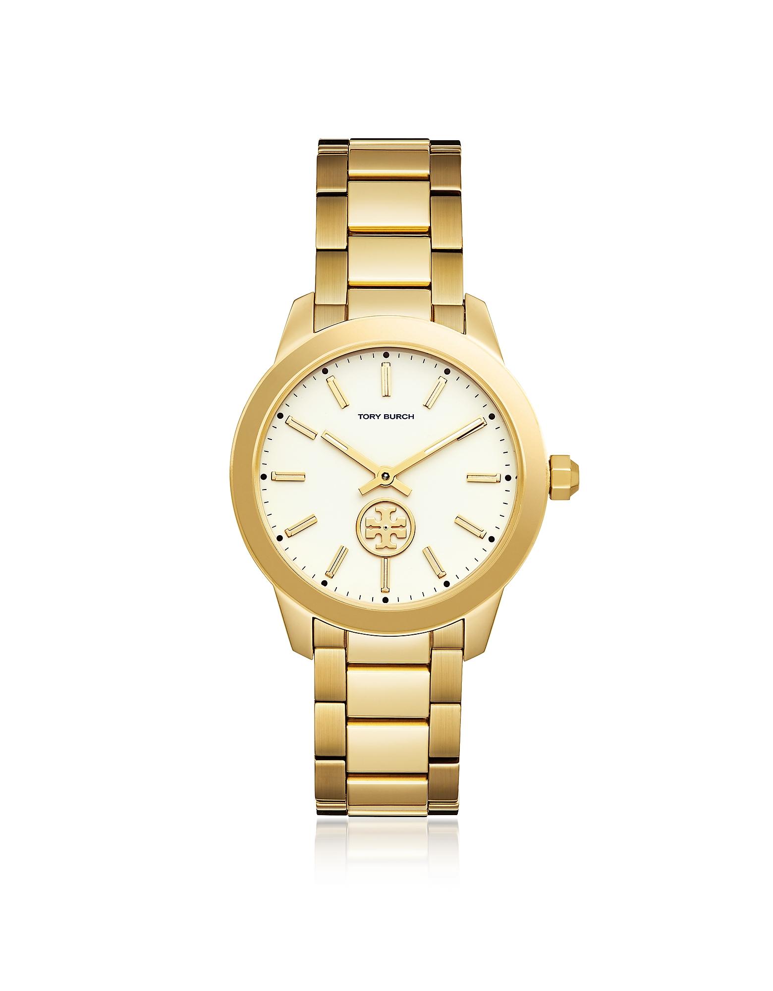 Tory Burch Women's Watches, TBW1200 The Collins Gold Tone Women's Watch