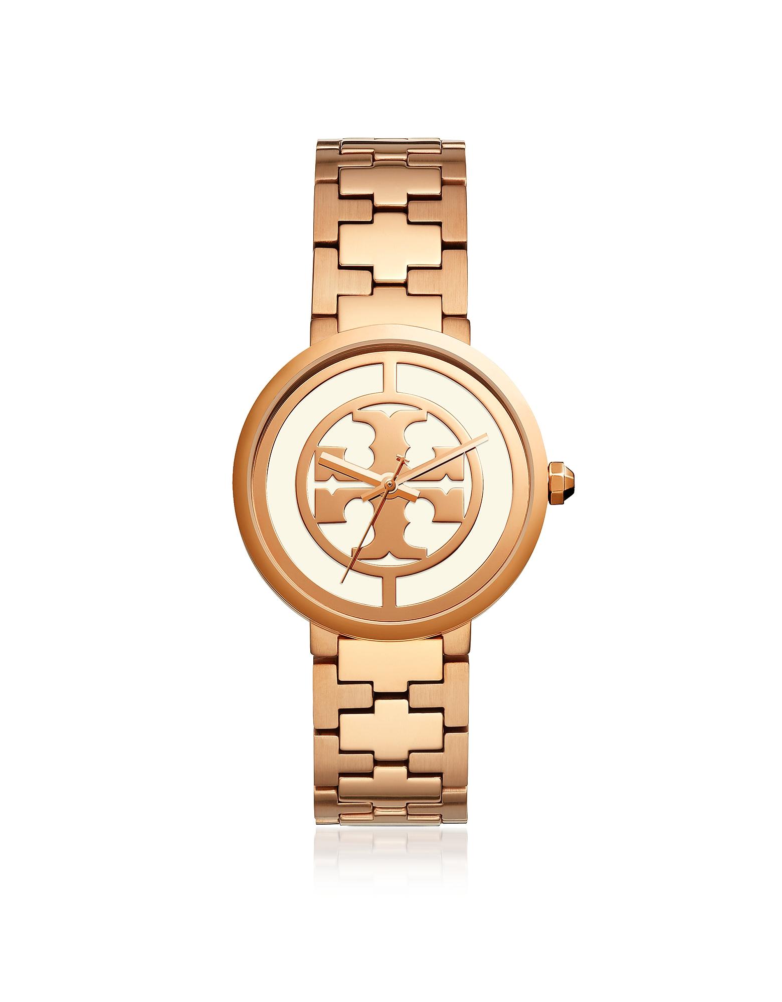 Tory Burch Women's Watches, TBW4028 The Reva Rose Gold 36mm Women's Watch