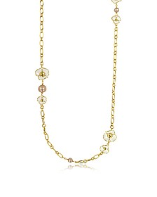 Fleur Rosary Long Necklace - Tory Burch