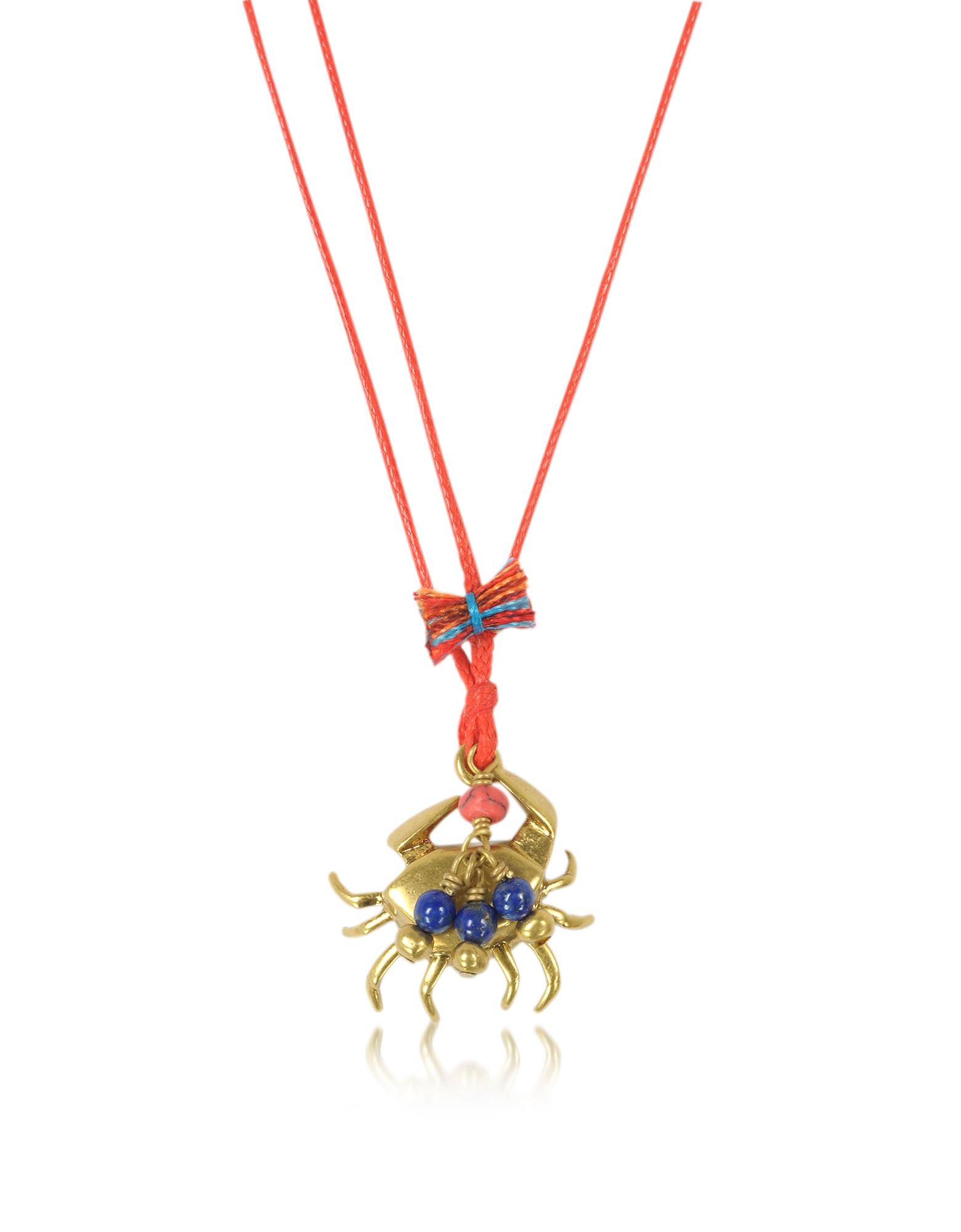 Ожерелье с Чармом-Крабом