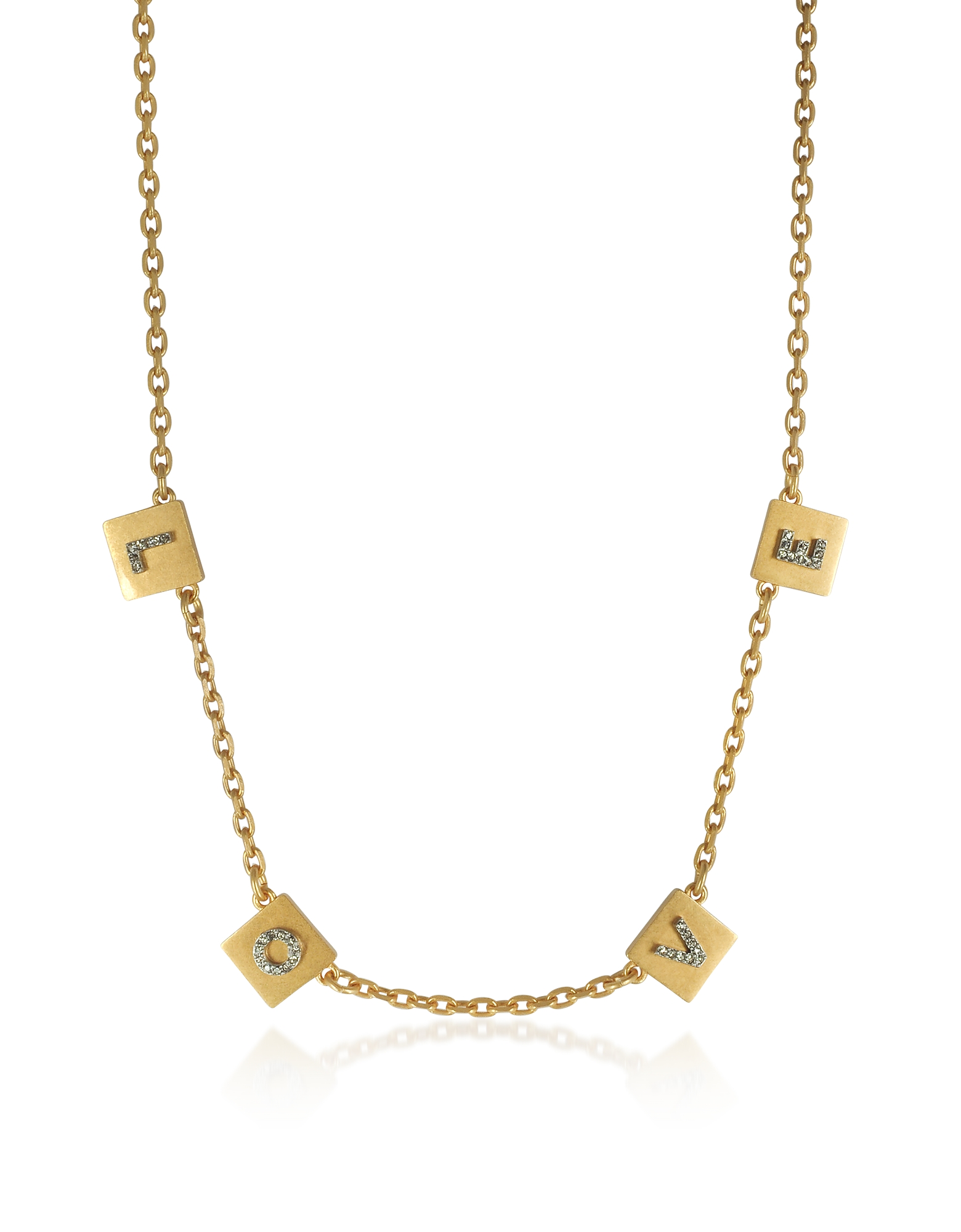 Tory Burch Necklaces, Love Message Delicate Choker Necklace