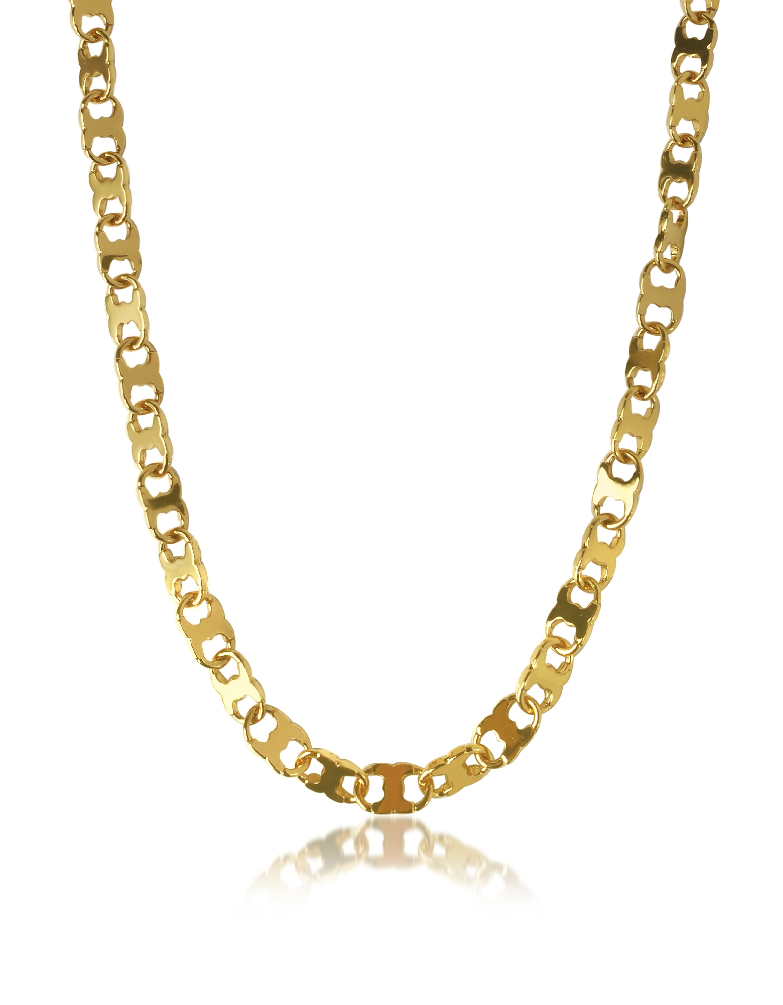 Tory Burch Core Gemini - Золотистое Ожерелье Цепочка из Металла