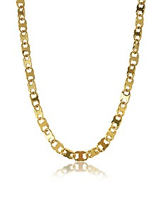 Core Gemini Gold Tone Metal Link Chain Necklace - Tory Burch