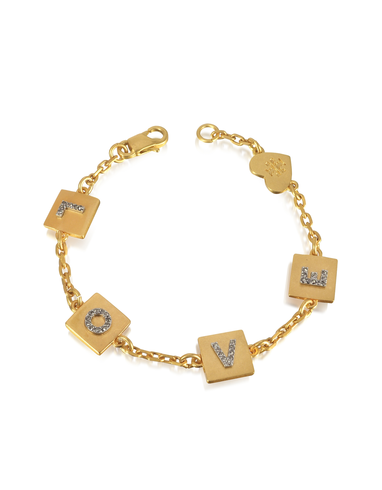 Tory Burch Bracelets, Love Message Delicate Chain Bracelet