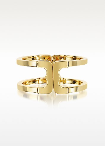 Core Gemini Gold Tone Metal Cuff - Tory Burch