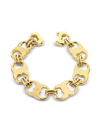 Gemini Gold Tone Link Bracelet