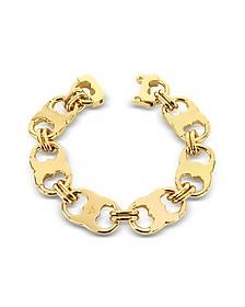 Gemini Gold Tone Link Bracelet - Tory Burch