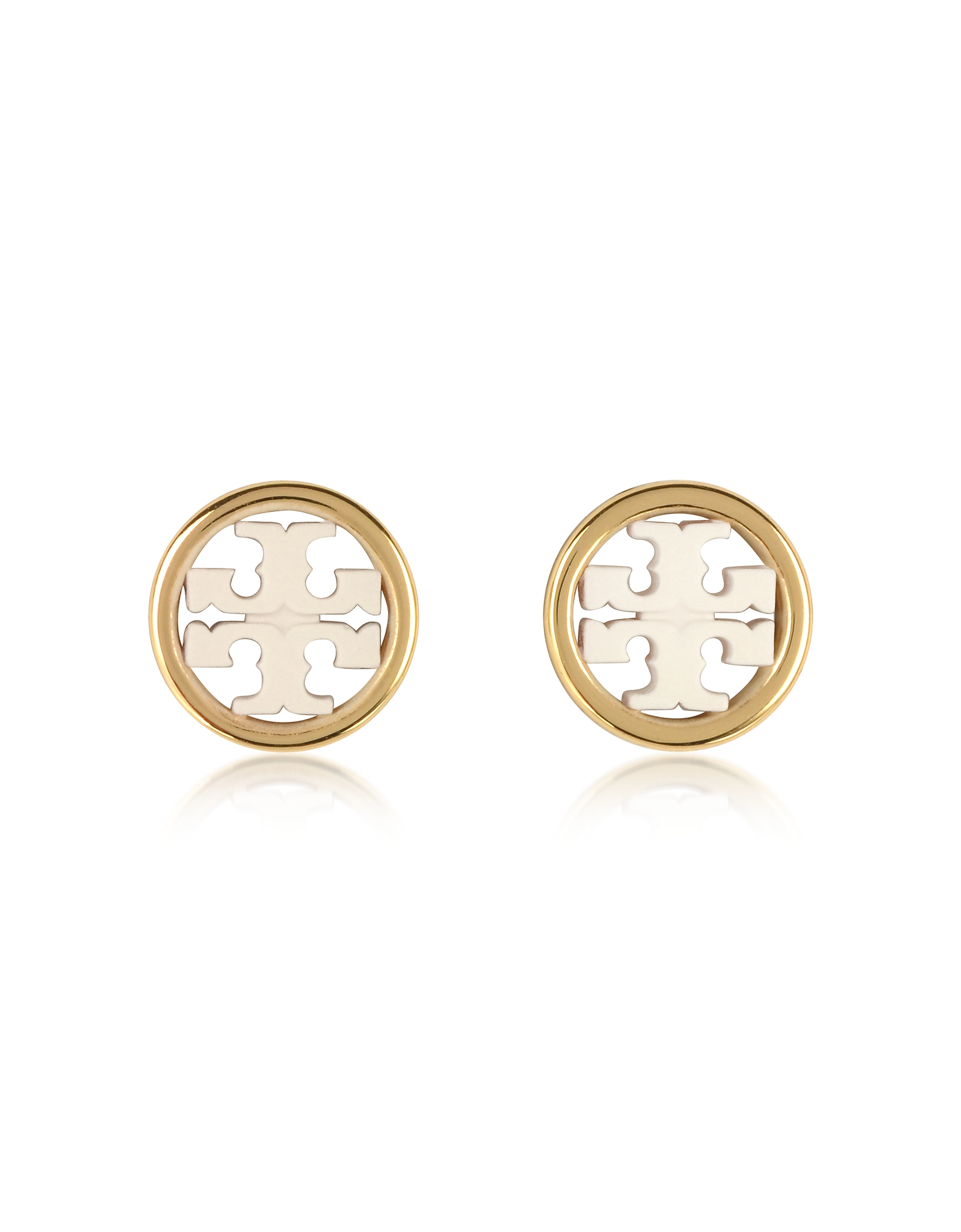Miller Circle-Stud Earrings