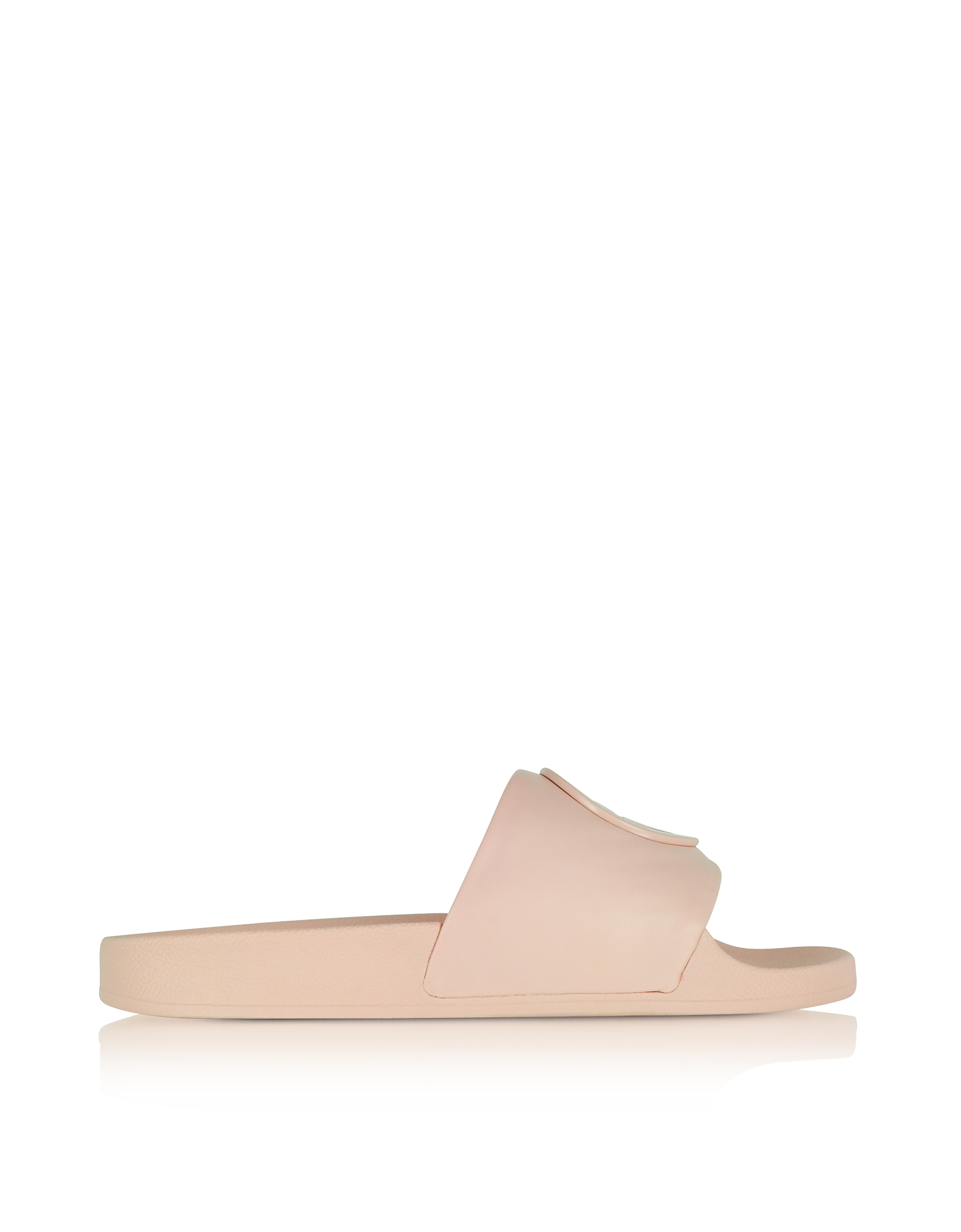 Tory Burch Shoes, Shell Pink Leather Lina Slide Sandals
